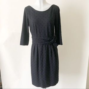 Kate Spade Black Polka Dot Dress R526